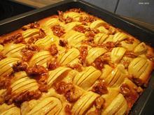 Apfelkuchen mit Walnüssen - Rezept - Bild Nr. 2