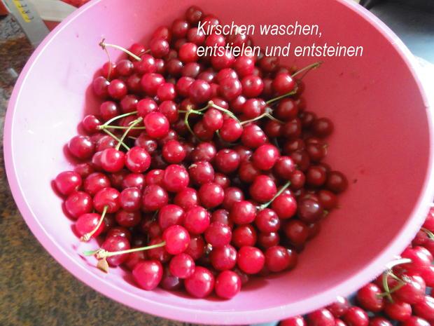 Diverses:   SAUERKIRSCHEN einkochen - Rezept - Bild Nr. 8337