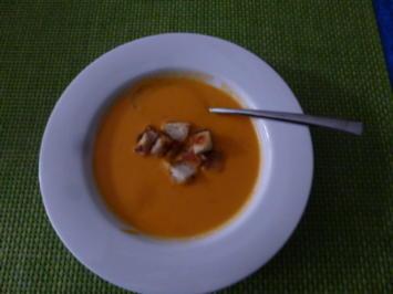 Rezept: Süßkartoffelsuppe