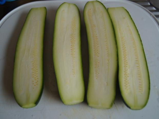 Gefüllte Zucchini mit gelben Basmatireis - Rezept - Bild Nr. 6