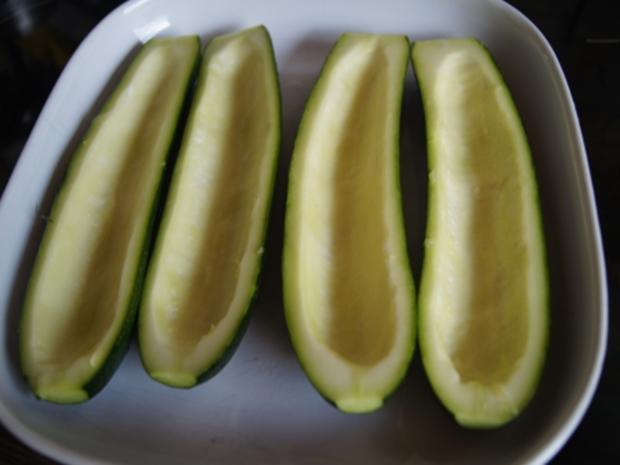 Gefüllte Zucchini mit gelben Basmatireis - Rezept - Bild Nr. 8