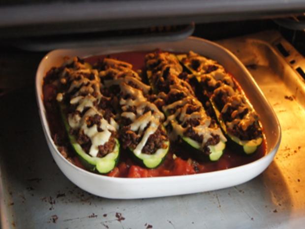 Gefüllte Zucchini mit gelben Basmatireis - Rezept - Bild Nr. 25