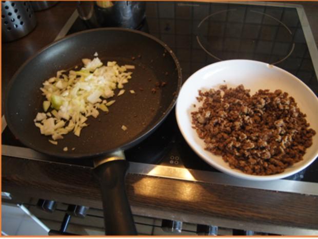 Flickerklops mit Kartoffelpilzen und Rote Bete - Rezept - Bild Nr. 7