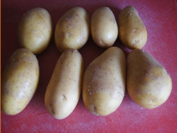 Flickerklops mit Kartoffelpilzen und Rote Bete - Rezept - Bild Nr. 11