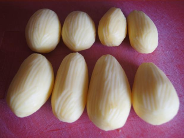 Flickerklops mit Kartoffelpilzen und Rote Bete - Rezept - Bild Nr. 12