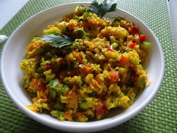 "Rezept: Blumenkohl-Salat ""Couscous-Style"""