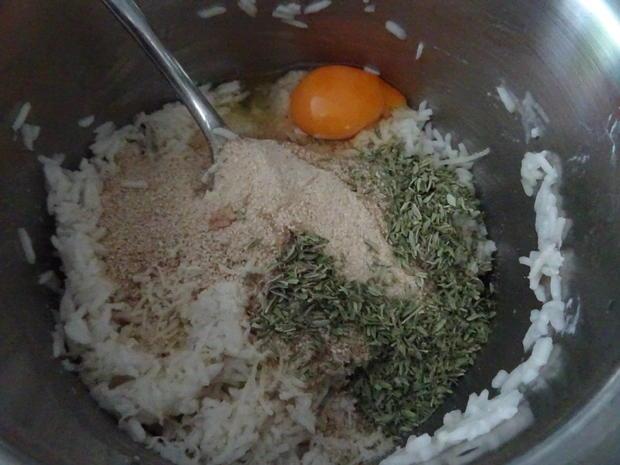 Saiblings-Filet-Röllchen und Reistaler vom Grill mit Honig-Senf-Soße - Rezept - Bild Nr. 8377