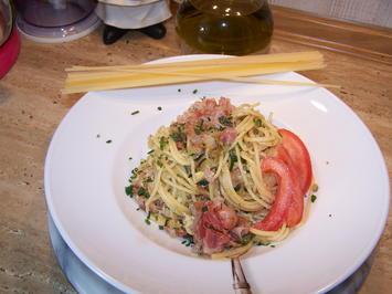 Rezept: Spagetti mit Gemüse Würfel