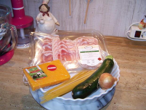 Spagetti mit Gemüse Würfel - Rezept - Bild Nr. 8373