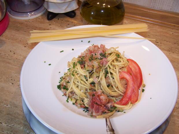 Spagetti mit Gemüse Würfel - Rezept - Bild Nr. 8383