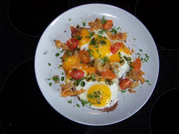Frühstück an einem Sonntag - Rezept - Bild Nr. 8378