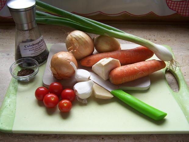 Schweine Rippchen mit Gemüse - Rezept - Bild Nr. 8373