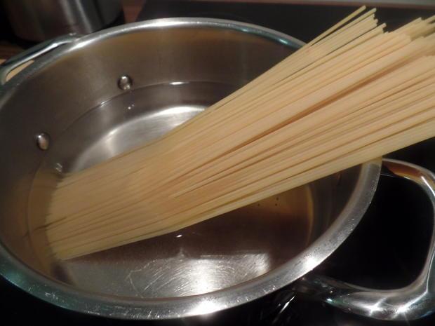 Fenchel-Spaghetti mit Hackbälchen - Rezept - Bild Nr. 8383