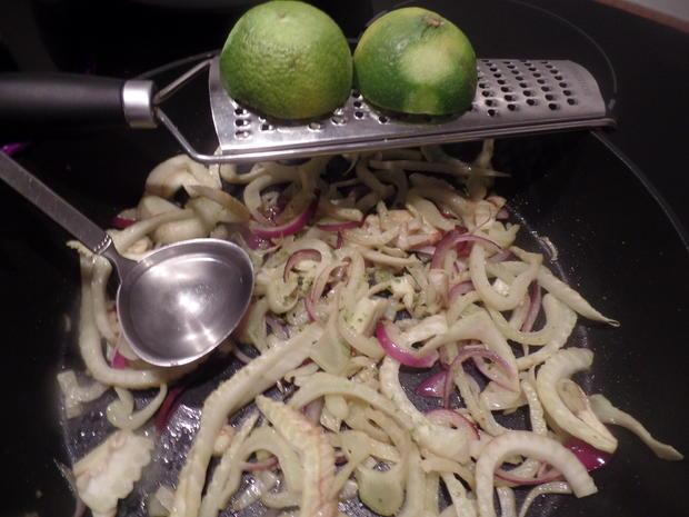 Fenchel-Spaghetti mit Hackbälchen - Rezept - Bild Nr. 8385