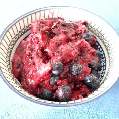erfrischender Beeren-Pudding - Rezept - Bild Nr. 2