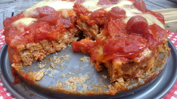 Resteverwertung - Ćevapčići - Pizza - Rezept - Bild Nr. 8388