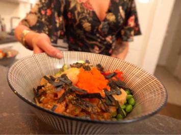 Ninja Bowl mit Fisch-Freier - Rezept - Bild Nr. 8380