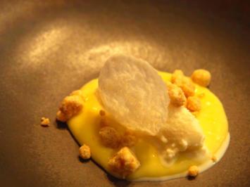 Milch & Honig: Bergamottencreme und getrockneter Milchschaum - Rezept - Bild Nr. 8380