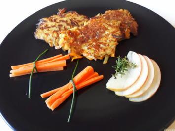 Kartoffel - Apfel - Möhren - Rösti mit Thymian - Rezept - Bild Nr. 2