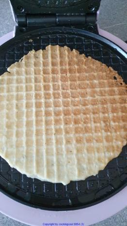 Waffeln für Eis und Dessert oder Amuse Gueule und Amuse Bouche - Rezept - Bild Nr. 8392