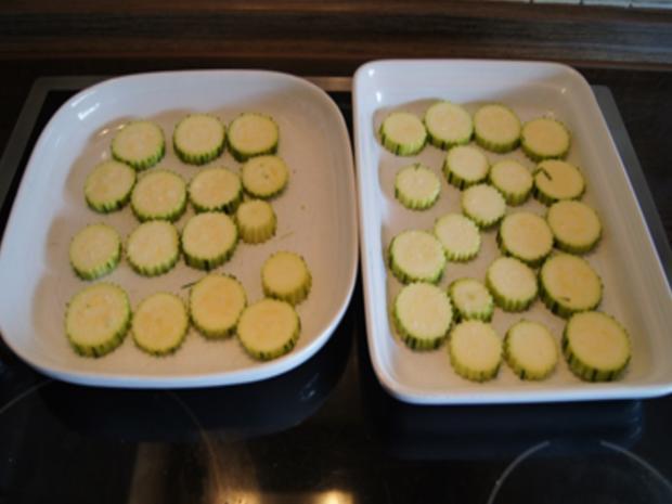 Gebratene Zucchini mit Garnelenspießen - Rezept - Bild Nr. 6