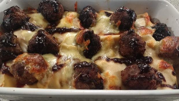 Frikadellen - Lasagne - Rezept - Bild Nr. 8439
