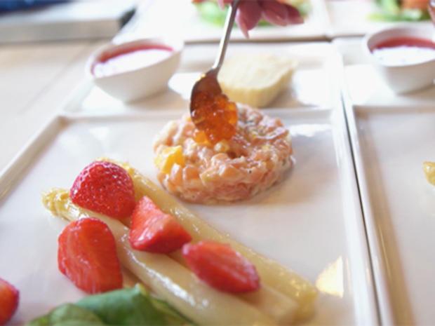 Selbst gebeizter Lachs mit Honig und Chili und Lachstatar mit Orange und Anis - Rezept - Bild Nr. 8424