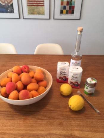 Aprikosen-Marmelade oder auch Marillen - Konfitüre  - hausgemachtes Glück - Rezept - Bild Nr. 8426