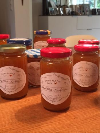 Aprikosen-Marmelade oder auch Marillen - Konfitüre  - hausgemachtes Glück - Rezept - Bild Nr. 8431