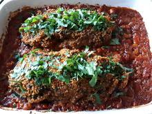 Gefüllte Aubergine mit Tomaten-Ragout - Rezept - Bild Nr. 2