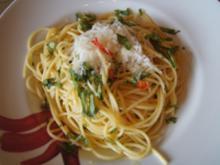 Spaghetti AGLIO, OLIO E PEPERONCINO - Rezept - Bild Nr. 8468