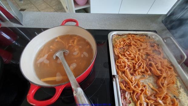 Tomaten Chili Tagliatelle (frisch hergestellt) mit der Pasta Maschine - Rezept - Bild Nr. 8480