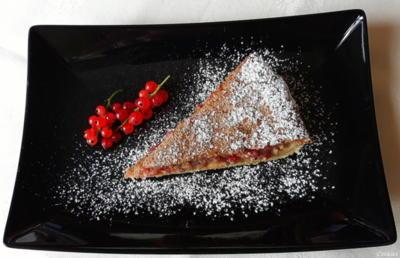 Rezept: Johannisbeer - Haselnuss - Tarte