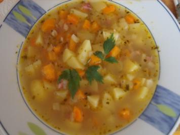 Rezept: Herzhafte Kartoffelsuppe