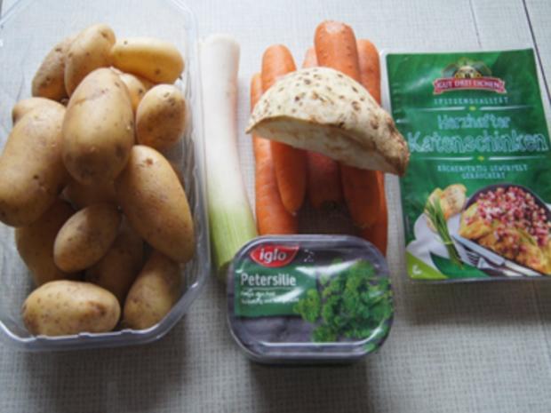 Herzhafte Kartoffelsuppe - Rezept - Bild Nr. 8478