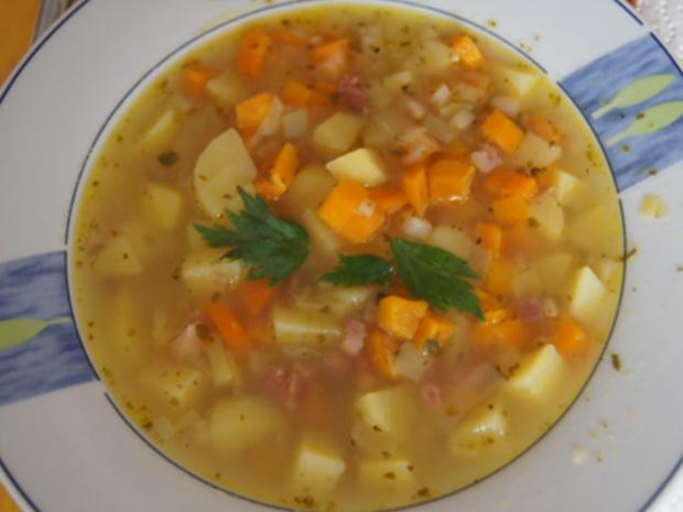 Herzhafte Kartoffelsuppe - Rezept - Bild Nr. 8489