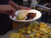 Entenbrust an süsser Balsamicosauce mit Kartöffelchen und Gemüse - Rezept - Bild Nr. 8526