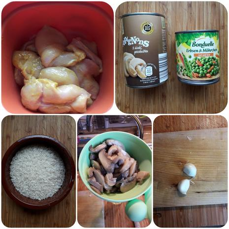 Hühnerbrust-Reis-Pfanne - Rezept - Bild Nr. 8530