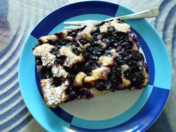 Blaubeer-Kuchen - Rezept - Bild Nr. 8533