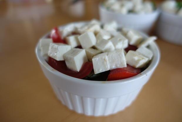 Auberginen-Souffle mit mildem Ziegenfeta - Rezept - Bild Nr. 8568