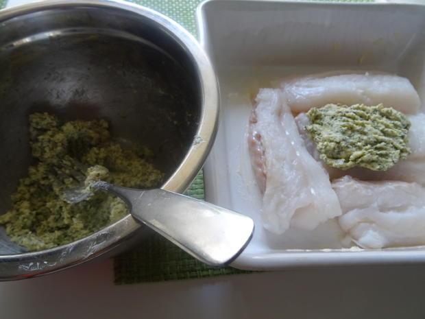 Schlemmerfilet à la Bordelaise auf Broccoli-Risotto - Rezept - Bild Nr. 8573