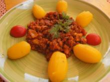 Frühkartoffeln mit herzhafter Hacksauce - Rezept - Bild Nr. 2