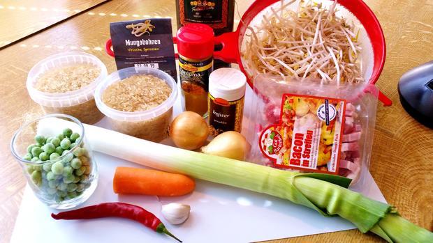 Asiatischer Bratreis = Kochbar Challenge 8.0 (August 2019) - Rezept - Bild Nr. 8569