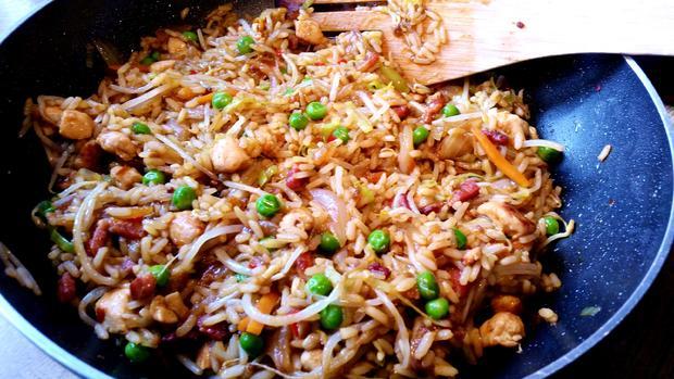 Asiatischer Bratreis = Kochbar Challenge 8.0 (August 2019) - Rezept - Bild Nr. 8575