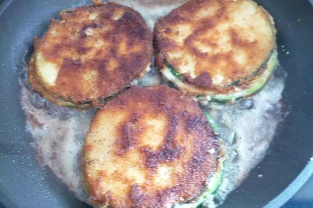 Zucchini Cordon blue - Rezept - Bild Nr. 8574