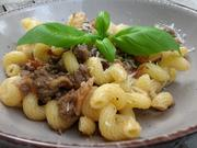 Einfache Nudeln mit Rindfleischsauce - Rezept - Bild Nr. 8569