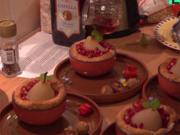 Birnensoufflé | gefüllte Datteln | Sesamkugeln | Kastanien | Obst - Rezept - Bild Nr. 2