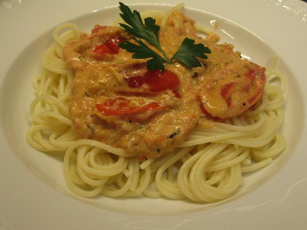 Pasta: Spaghetti mit Antipasticreme - Rezept - Bild Nr. 8575