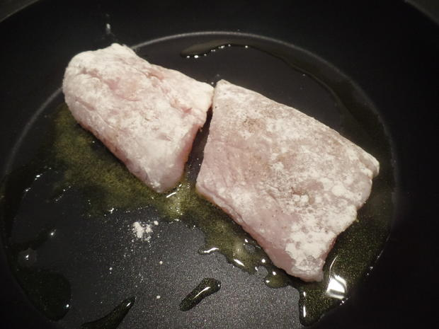 Zander auf Kartoffel-Pilz -Salat - Rezept - Bild Nr. 8585