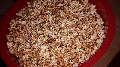 Rezept: Bestes Popkorn --- wie im Kino!!